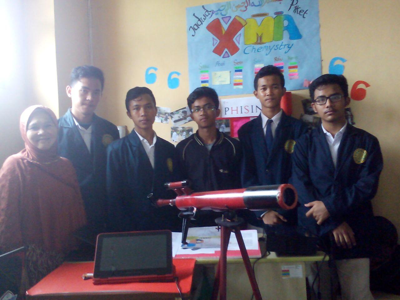 Kelompok Pembuatan Prototype Teropong Bintang dari Pipa Paralon